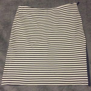 Madewell striped skirt, size S